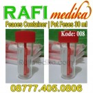 Feaces Container Sterile | Pot Feses 30 ml | Feces | Faces