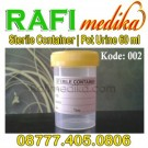 Pot Urine Sterile Container 60 ml
