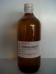 Hemoglobin C 500 ml