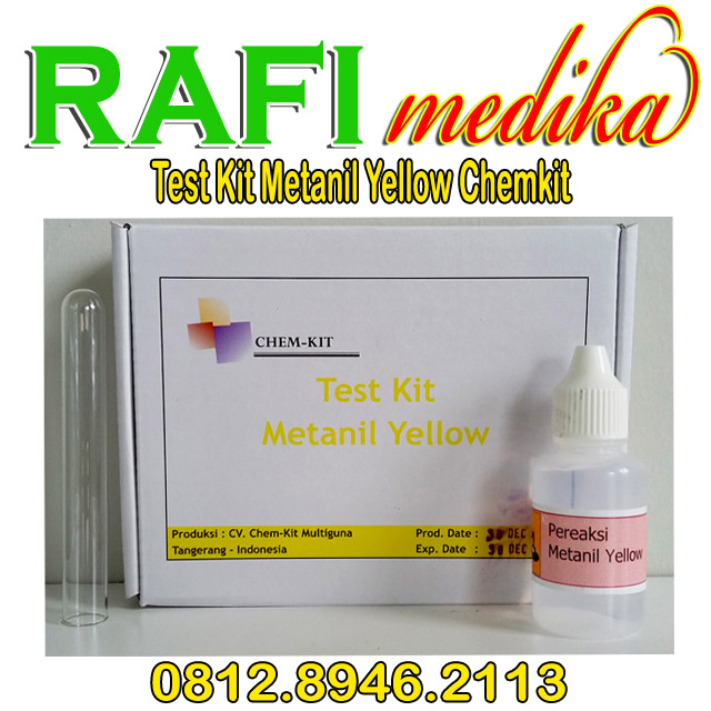 Test Kit Metanil Yellow Chemkit