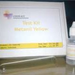 Test Kit Metanil Yellow (ChemKits)