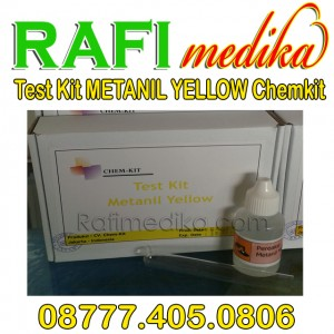 Test kit metanil yellow chemkit | test kit keamanan pangan