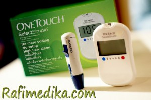 Alat Glucose One Touch Select Simple