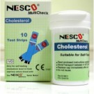 Nesco Cholesterol Test Strips | Refil Strip Kolesterol