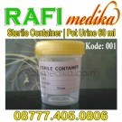Pot Urie Sterile | Urine Container 60 ml tutup kuning