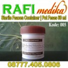 Feaces Container Sterile 60 ml | Pot Feces, Faces, Feses Dop