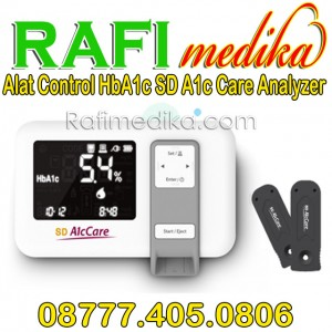Alat Control HbA1c SD A1c Care Analyzer