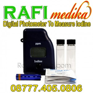 Digital Photometer To Measure Iodine MW-13