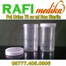 Pot Urine 75 cc ml Non Sterile