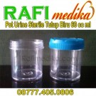 Pot Urine Sterile Tutup Biru 60 cc ml