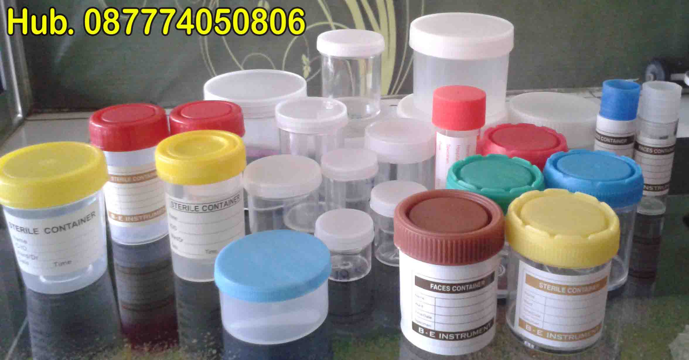 Pot Urine 200 cc ml Non Sterile