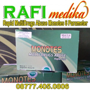 Rapid MultiDrugs Abuse Monotes 6 Parameter