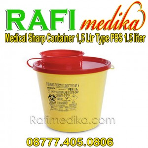 Medical Sharp Container 1,5 Ltr Type PBS 1
