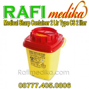 Tempat sampah medis | Medical Sharp Container 2 Ltr Type CS 2 Ltr