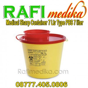 Tempat Sampah Medis | Medical Sharp Container 7 Ltr Type PBS 7 Ltr