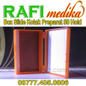 Box Slide Kotak Preparat 50 Hold