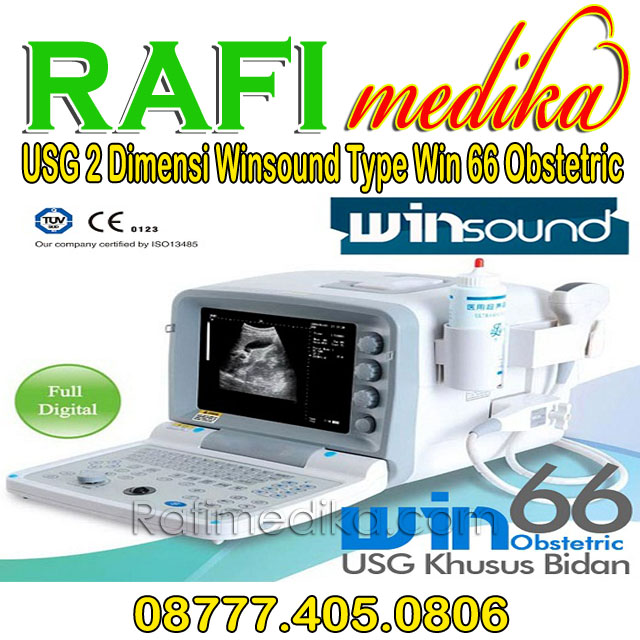 USG 2 Dimensi Winsound Type Win 66 Obstetric